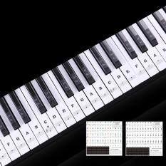 KOKKO 88 phím Trong Suốt Bàn Phím Piano Tên Dán 54/61/88 Phím Điện Tử Bàn Phím Đàn Piano Dán Xã Stave Note Âm Nhạc decal dán Nhãn
