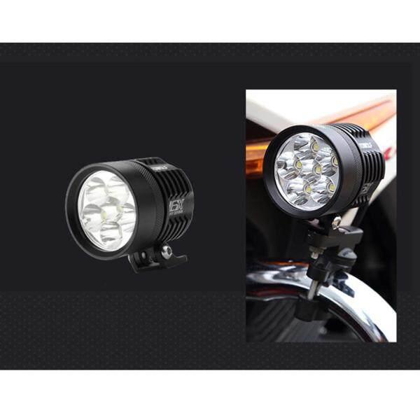 Taixer Lumières De Conduit De Moto, Lape De Travail De Brouilard 60W 7000K Ống Đèn LED Cho Xe Tay Ga Camion Dutv ATV De-bike