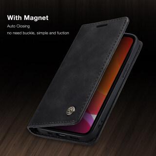 Thinmon Dành Cho IPhone Của Apple 12 12 Mini 12 Pro 12 Pro Max Ốp Lưng Ví Khe Cắm Thẻ Ốp Lật Ốp Da Chống Sốc Cho Apple IPhone 12 12 Mini 12 Pro 12 Pro Max Retor Ốp Da thumbnail