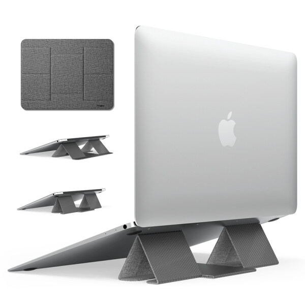 Ringke Folding Stand 2 Portable and Foldable Laptop Stand for Desktop MacBook Notebook Computer iPad Tablet