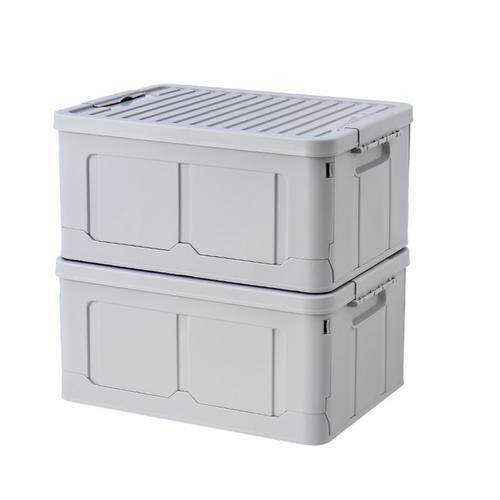 Folding Plastic Storage Crates Large Capacity Collapsible Container for Student Dormitory Toy Clothes Toy
