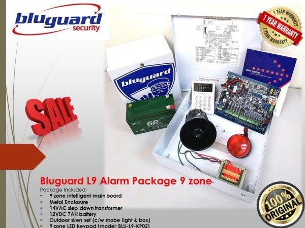 Bluguard L9 Alarm Package 9 zone