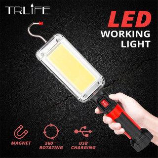 Đèn Pin LED Xách Tay WeSport Đèn Móc Đèn Làm Việc Đèn Pin Cob 18650 Sạc Lại USB Torch 700LM Chống Nước Nổi Bật thumbnail