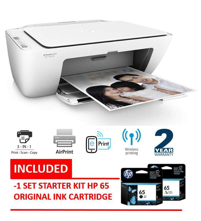 Hp Deskjet 2622 Wifi All-In-One Printer (print, Copy, Scan) By Mythnet.
