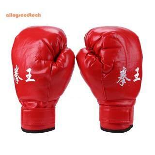 [Alloyseedtech] Người Lớn Găng Tay Đấm Bốc, Găng Tay Sanda MMA Muay Thai Bằng Da PU Thiết Bị Thể Thao (Hàng Có Sẵn) thumbnail