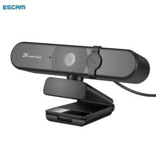 ESCAM Camera Web C55A 2K Full HD 1080P Webcam Tự Động Lấy Nét Có Micrô, Máy Quay Web USB, Dành Cho Máy Tính PC thumbnail