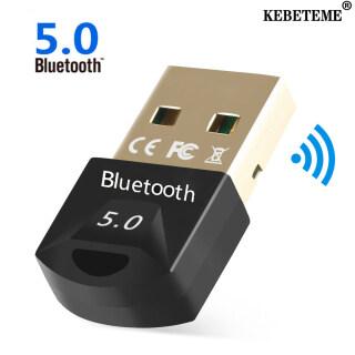 KEBETEME Bộ Thu Chuyển Đổi USB Bluetooth 5.0, Dongle Bluetooth Không Dây, Máy Phát Nhạc Bluetooth Mini Dành Cho Máy Tính PC thumbnail