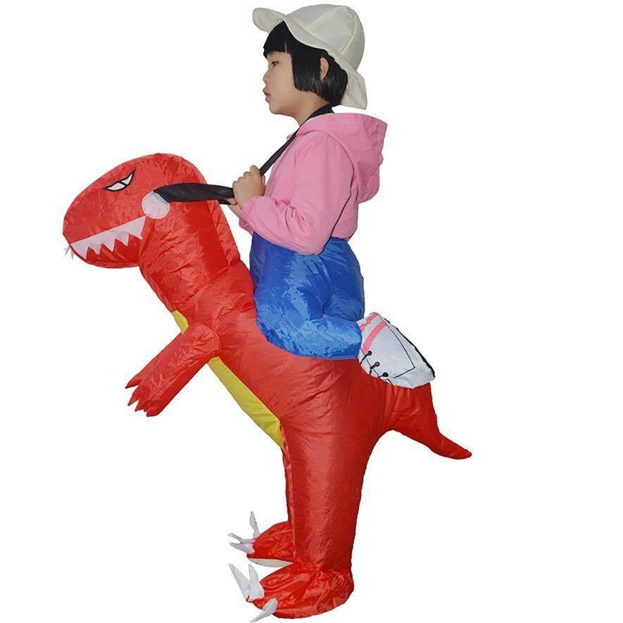 [ขายแฟลช] ไดโนเสาร์เป่าลมได้ตลกเครื่องแต่งกายเด็กฮาโลวีน Dragon Party เสื้อผ้า By Good Good Shop.