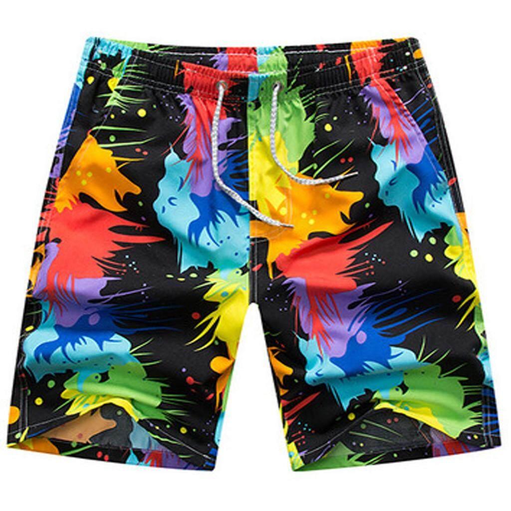 Colorful Quick Dry Swim Beach Shorts Men/'s Surf Board Shorts Random Pants