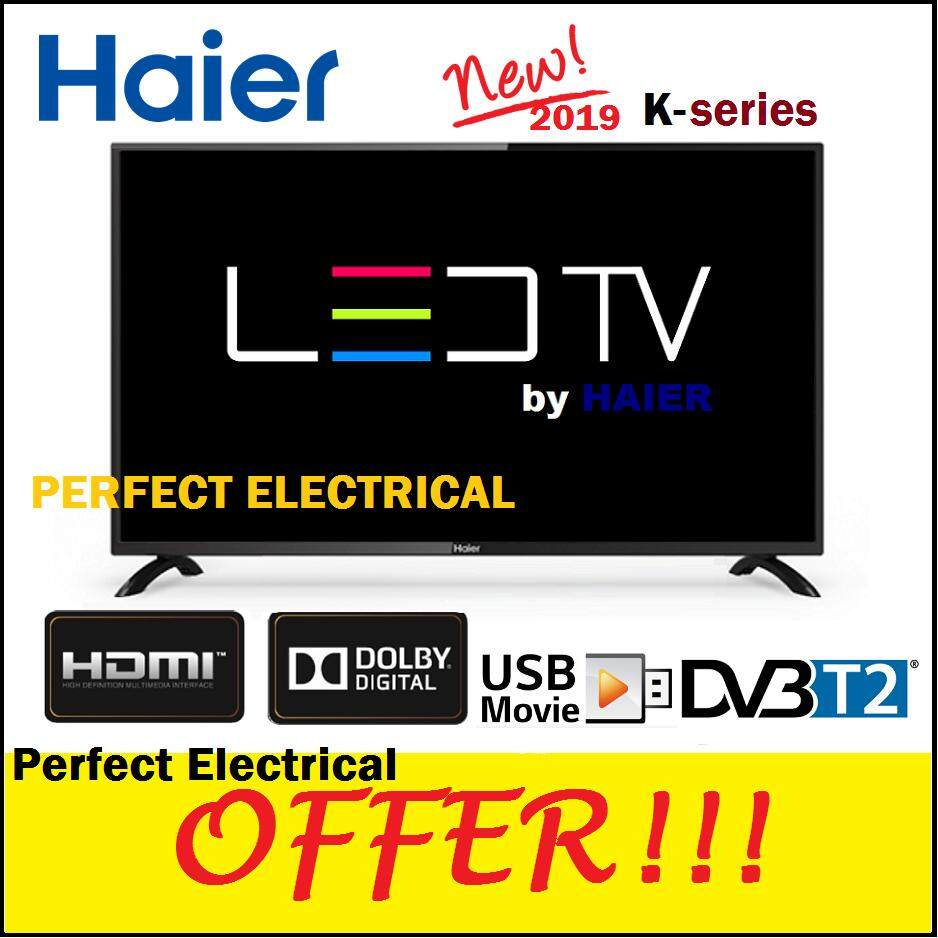 Haier 32 inch LED TV LE32K6000 DVB T2 [NEW] with VGA Port better than SHARP  / HISENSE / PHILIPS / SAMSUNG / LG / SKYWORTH / TOSHIBA
