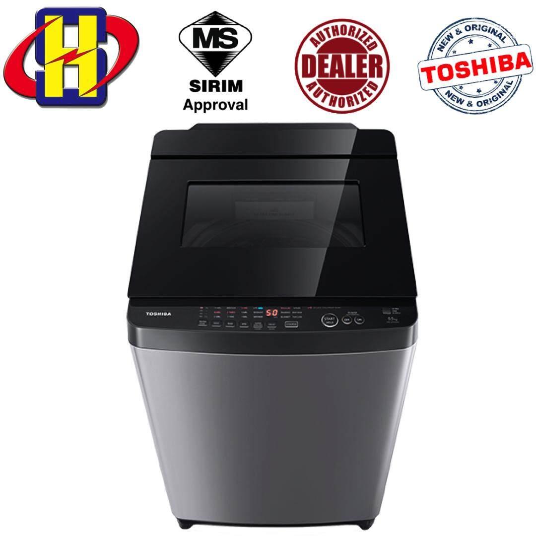 Toshiba Washing Machine AW-UH1050GM (DS) 9.5KG Nano Wash Series Washer Washing Machine