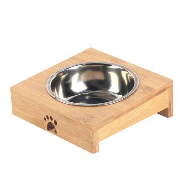 Thức Ăn Cho Thú Cưng Bát Cho Chó Mèo Tự Nhiên Stent Pet Đơn/Đôi Bát Bộ Đồ Ăn Cân Bằng Môi Trường