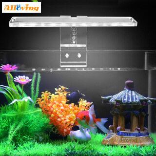 Alloving Đèn LED Bể Cá Thực Vật Ánh Sáng Phù Hợp Với Xe Tăng 3-8 Mét Độ Dày Thủy Sinh Đèn Aquarium Giá Đèn thumbnail