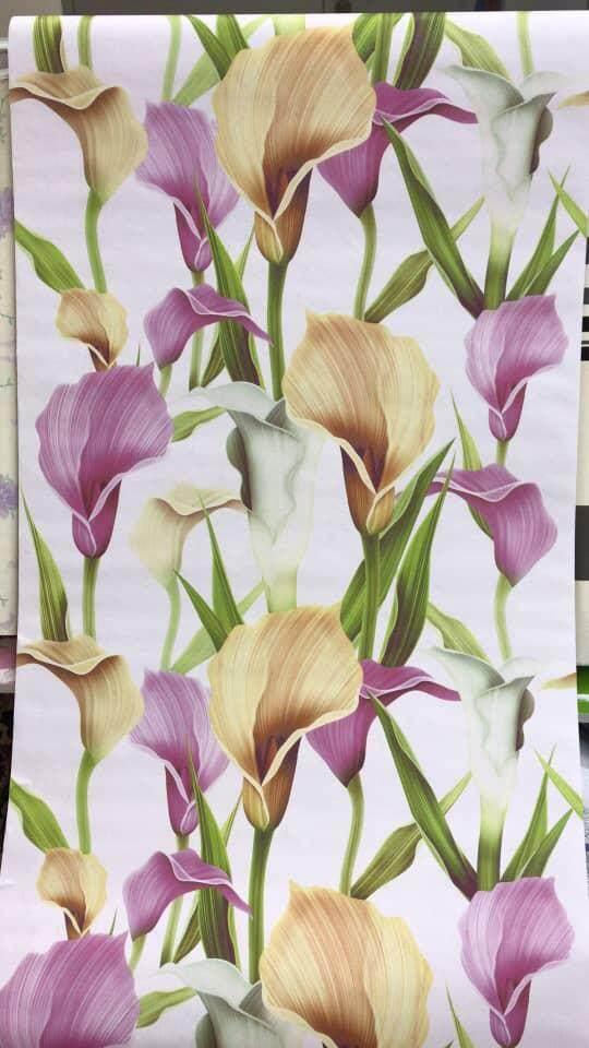 Flower Series DIY Self Adhersive Decorative Wallpaper With Premium Glue