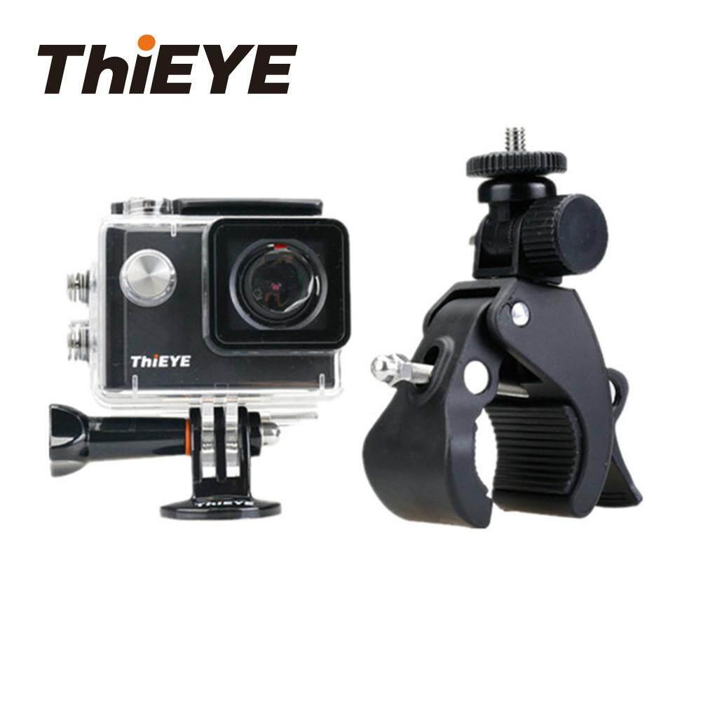 ThiEYE Camera Hành Động Phụ Kiện Tay Lái Xe Đạp Tay Cầm Kẹp Gắn Máy Ảnh cho Hero 5 6 4 H9 Xe Đạp Giá Kẹp Nhật Bản