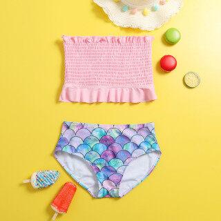 Đồ Bơi Trẻ Em Cho Trẻ Em, Đồ Bơi Hai Mảnh In Hình Mẹ Và Con Gái Phù Hợp Với Đồ Bơi, Quần Áo Áo Tắm thumbnail