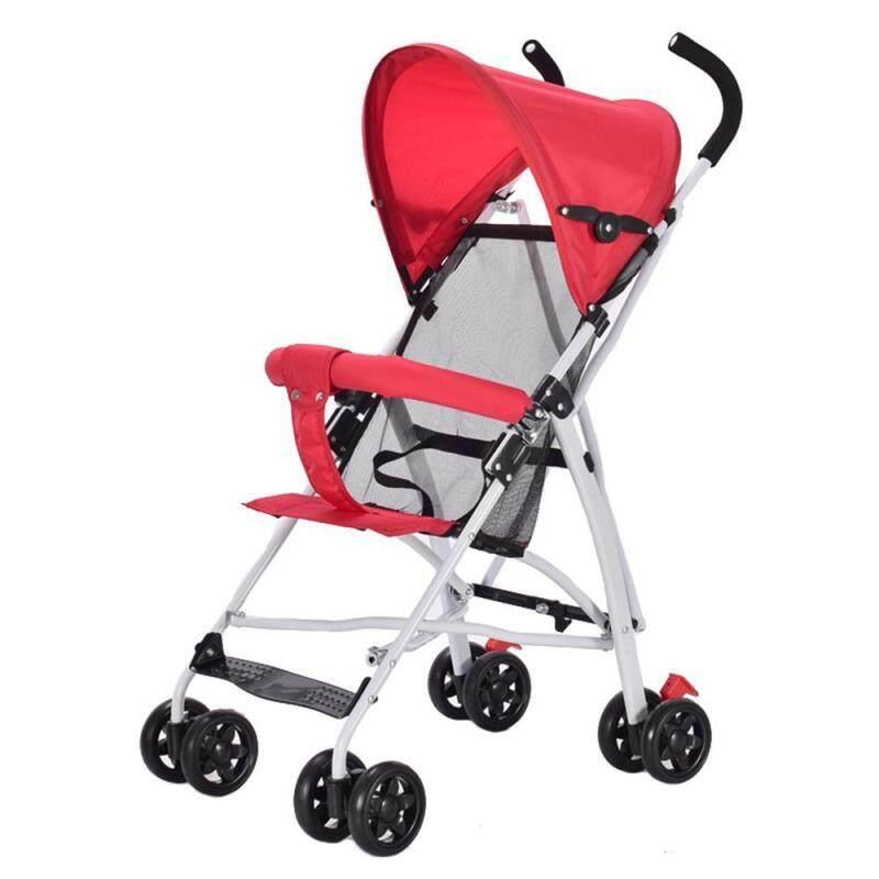 Pawaca Baby Stroller ,Lightweight Stroller Compact One-Hand Fold Baby Stroller 0-3Yrs Singapore