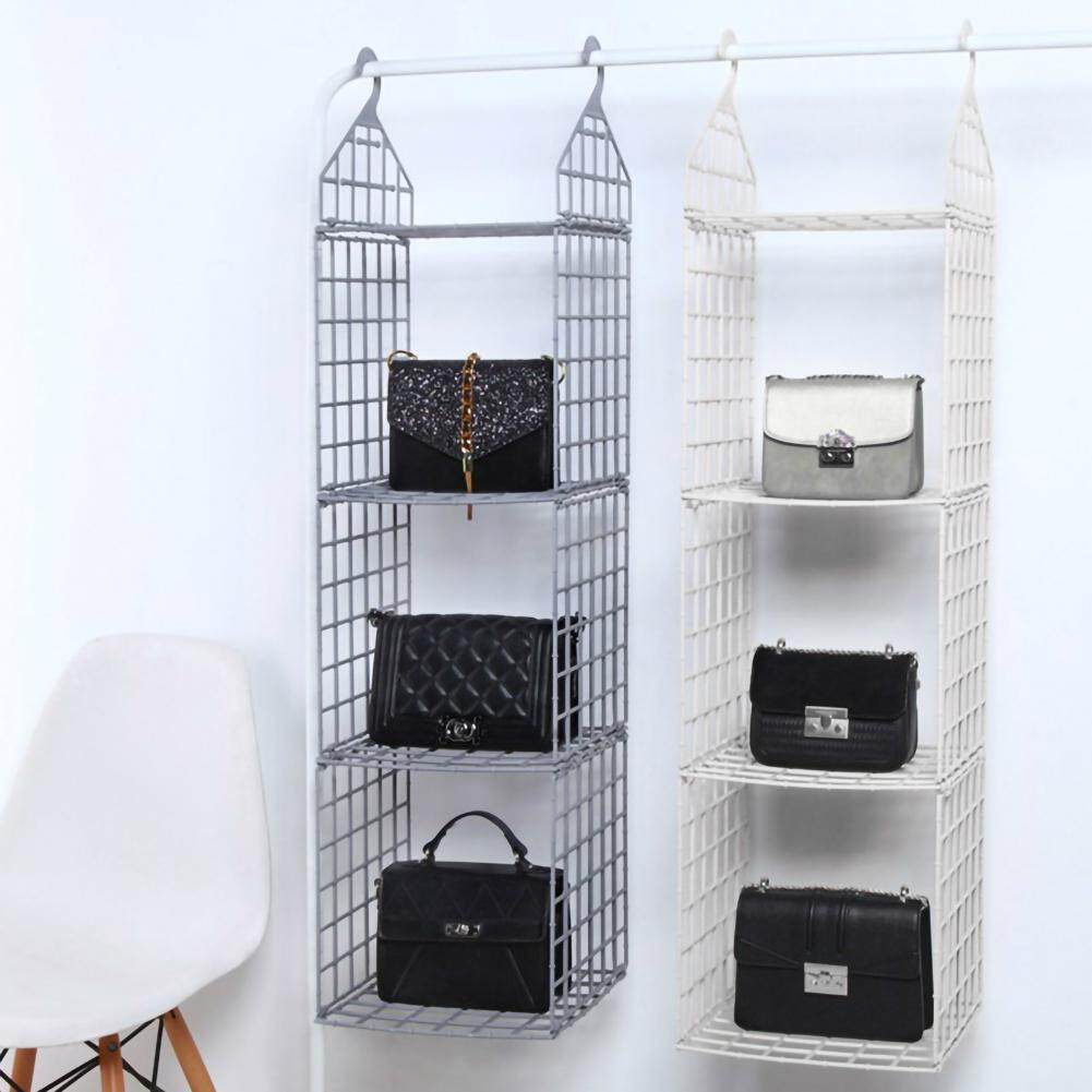 Home Ark Layered Receiving Rack Multilayer Clothing Rack Dormitory Wardrobe Clothes Hanging Rack