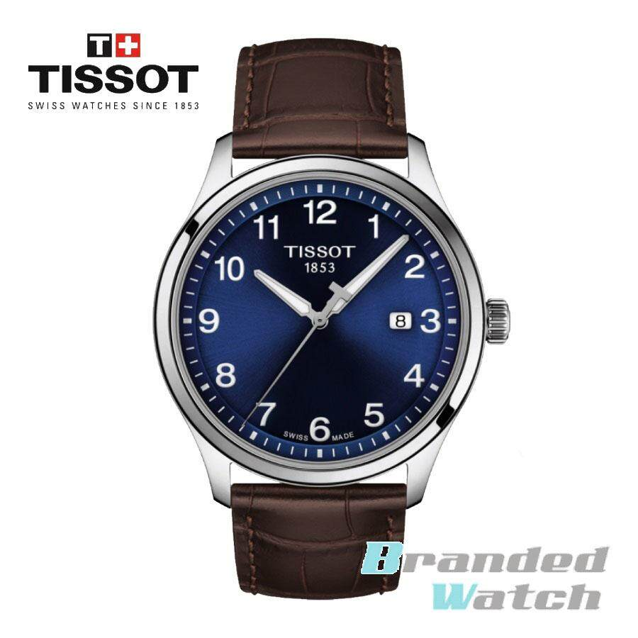 Tissot T116.410.16.047.00 Mens Gent XL Classic 3 Hand Analog Quartz Swiss Leather Strap Watch Malaysia