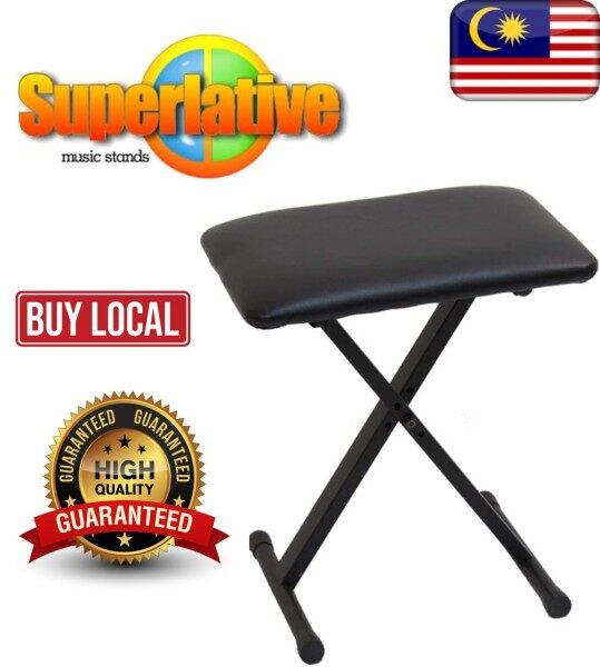 Superlative Stands(Msia) Keyboard Bench Musical Keyboard Seat Piano Chair Malaysia