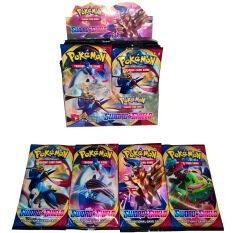 324 Bộ Khăn Trải Giường Pokémon Thẻ Pokemon S Phiên Bản Tiếng Anh Của Thẻ POKEMON Khay Đựng Thẻ