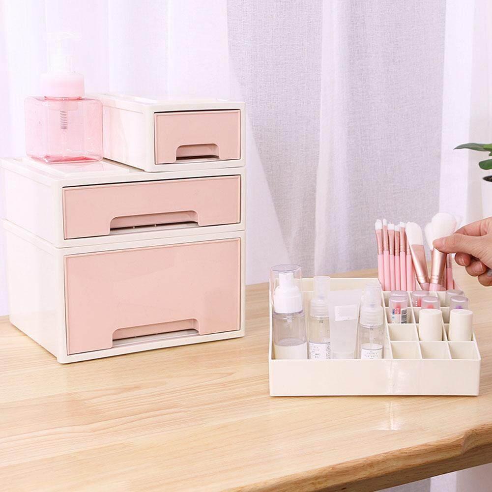 Desktop Combination Type Storage Box Drawer Innovative Plastic Desk Finishing Box Bedside Table Debris Cosmetics Storage Box