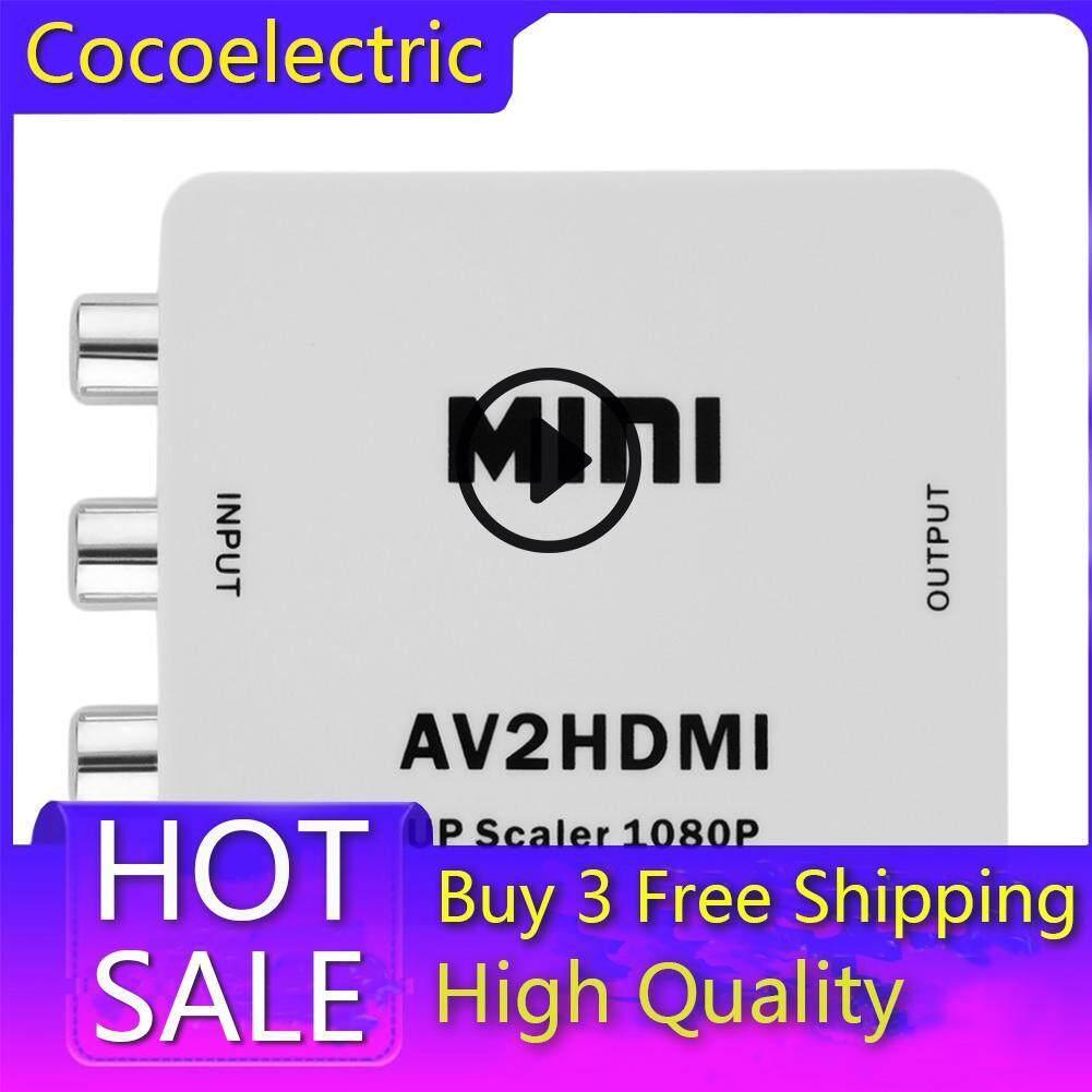RCA to HDMI AV to HDMI 1080P AV2HDMI Mini AV to HDMI Converter