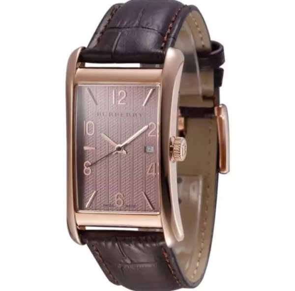Burberry Heritage Brown Dial Brown Leather Unisex Watch BU3000 Malaysia