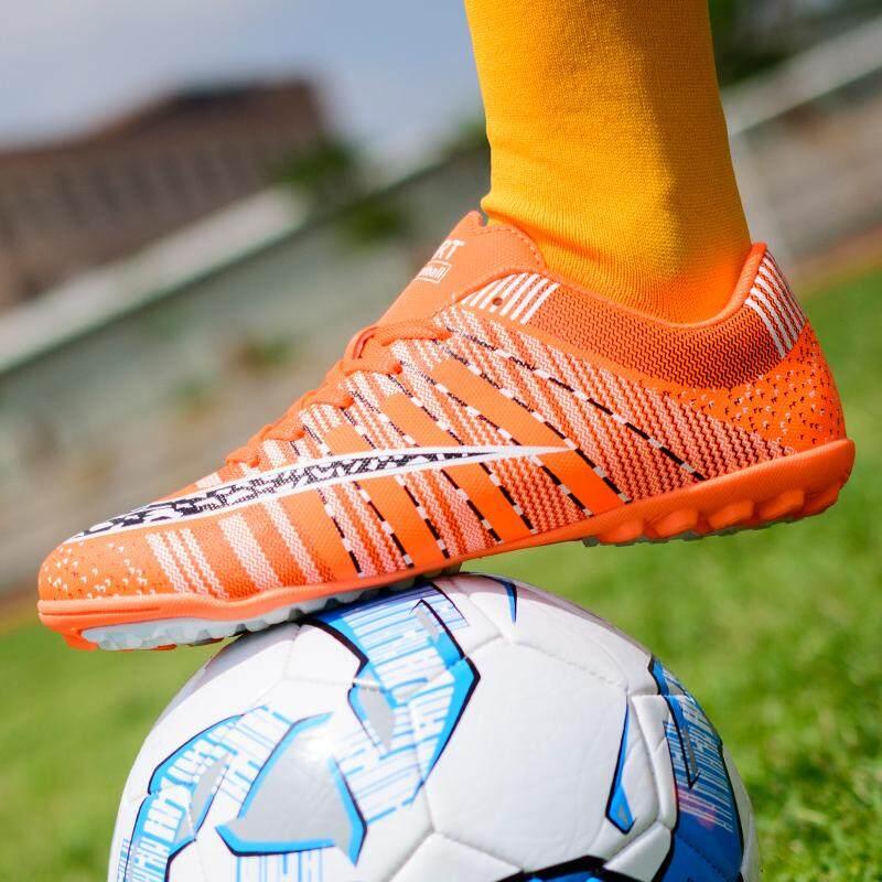 Anak Laki-laki Kuku Patah Sepatu Sepak Bola Sepatu Olahraga Modis 33-44 Berenda