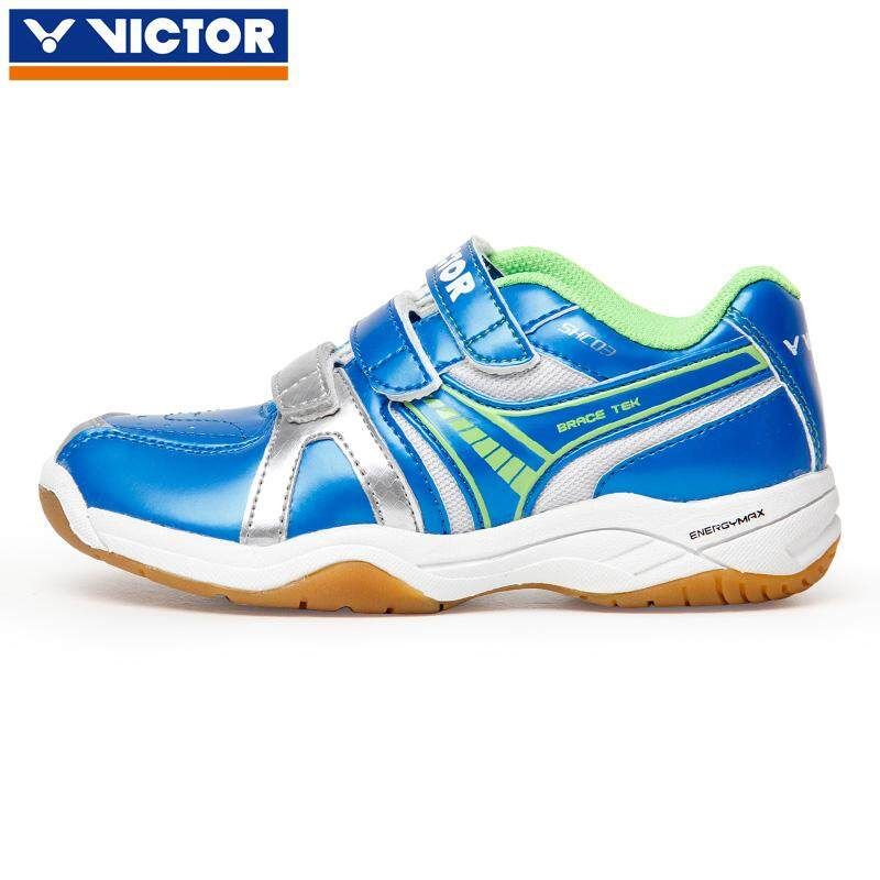 แบดมินตัน Victor รองเท้ารองเท้าเด็ก Shc03 เยาวชนกีฬารองเท้าผู้หญิงรองเท้าขนนก By Andy Fashion Love Store.