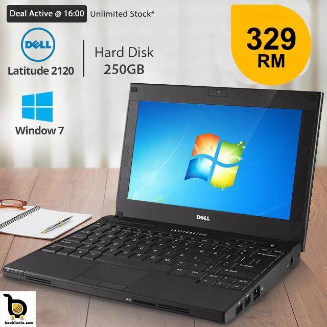 Dell Latitude 2120/2100 Mini Laptop, Intel Atom N550 Processor, 2GB RAM, 250GB HDD, 10.1 Inch HD LED Screen Malaysia