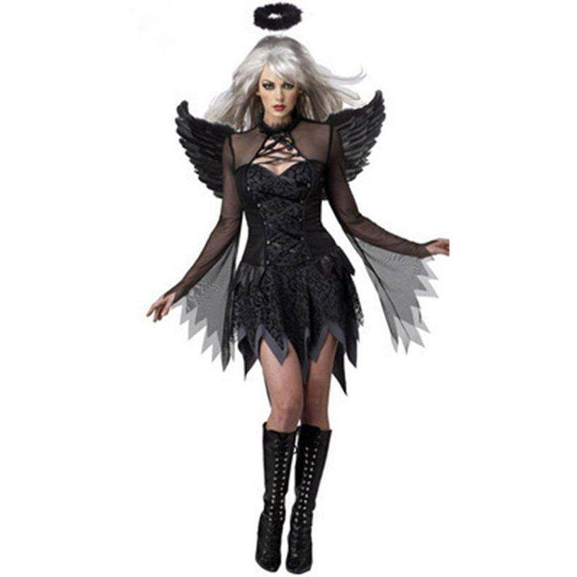 Most Popular Halloween Angel Costume Stage Costume Cosplay Halloween Carnival Show