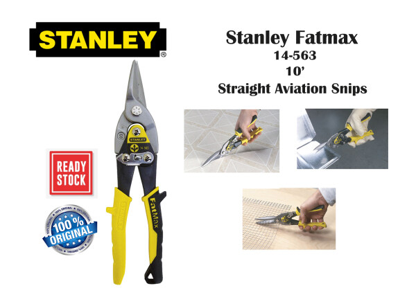 Stanley Fatmax 14-563 - Straight Aviation Snips 10