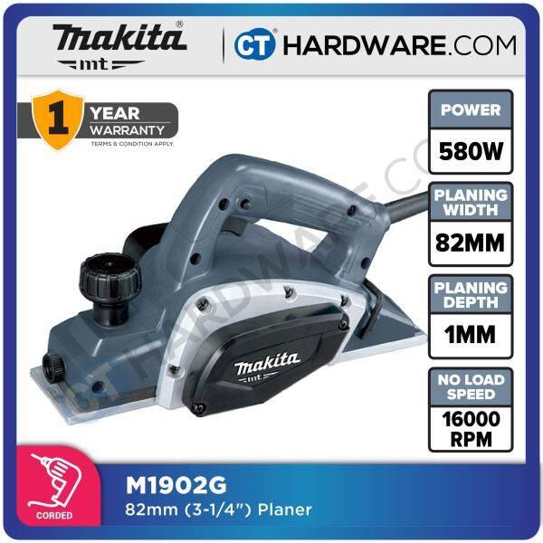 Makita M1902G Planers 500W 16000 Rpm MT-Series