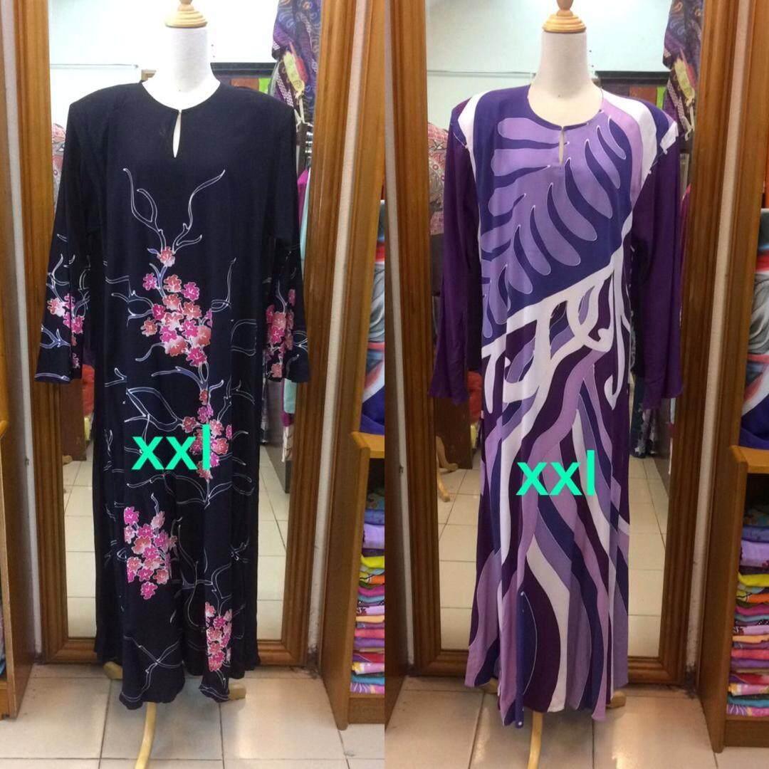 Jubah Exclusive Premium quality Batik Terengganu Asli Kain Sponge Cotton  Quality Terbaik 92d9244780