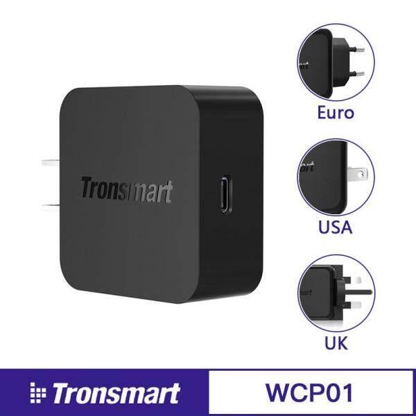 Ban đầu Tronsmart WCP01 Quick Charge 3.0 18 Wát Điện Giao Hàng 3.0 USB Loại C Đế Sạc Điện Thoại cho iPhone x, iphone 8 Plus, Samsung S8 Sạc Nhanh