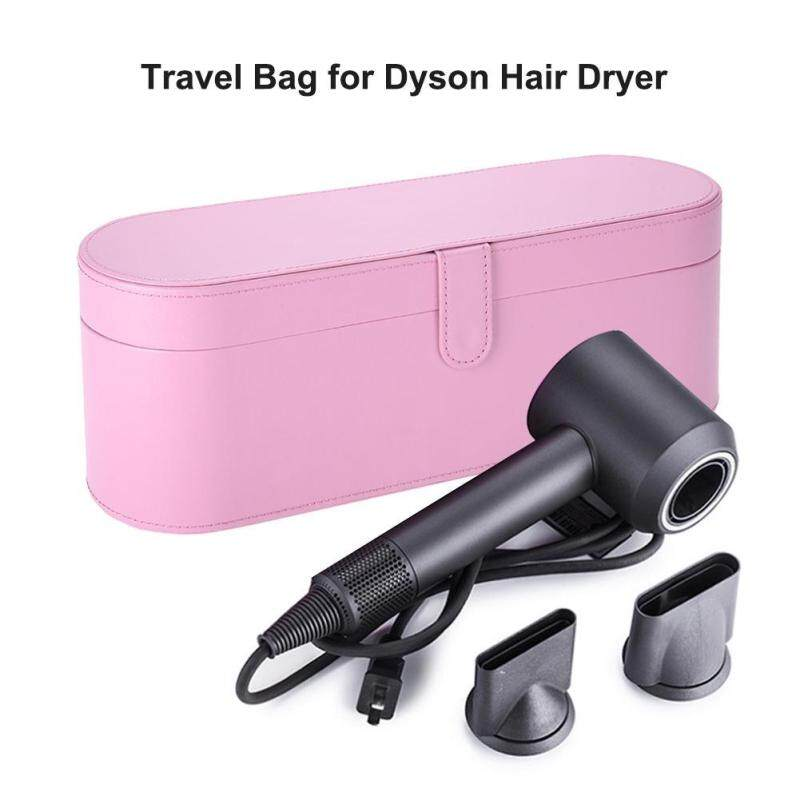 Buy PU Leather High-grade Hair Dryer Storage Box Moisture-proof Shockproof Travel Bag for Dyson Hair Dryer Singapore