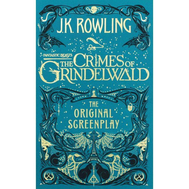 Fantastic Beasts: The Crimes of Grindelwald - The Original Screenplay(Hardcover) Malaysia