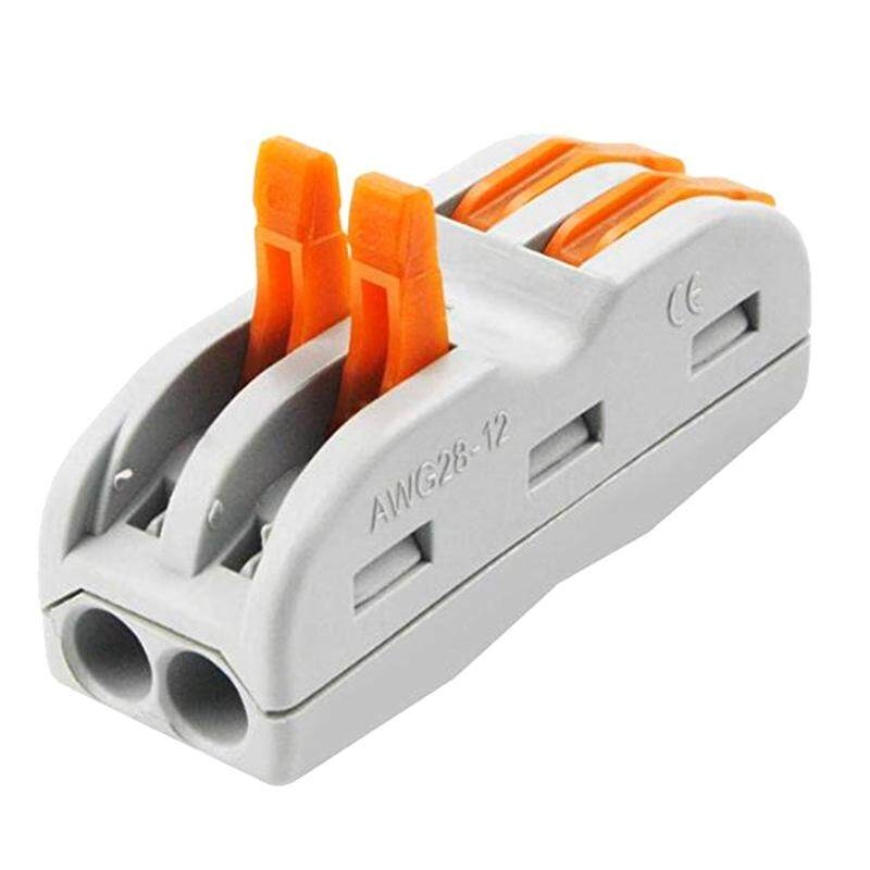 Lever-Nut Wire Connector,Compact Wire Connector,Junction Box Classified Conductor Connector (Spl-2, 50Pcs)