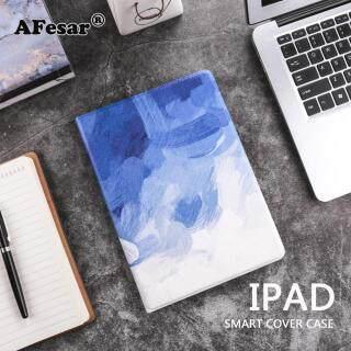 Ốp lưng Đá Cẩm Thạch thời trang cho iPad Air 1 2 Ốp lưng giả da PU Mỏng Chống rơi thiết bị đánh thức giấc ngủ thông minh cho Ipad 9.7 2017 2018 iPad Mini 12345 thumbnail