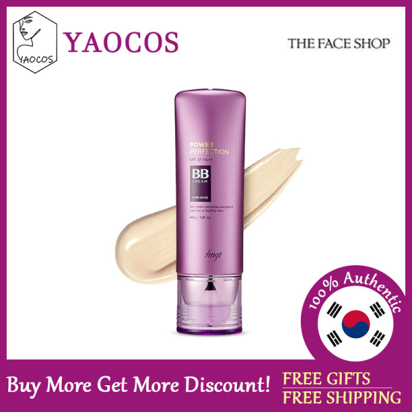 Buy [THE FACE SHOP] Power Perfection BB Cream SPF37 PA++ Singapore