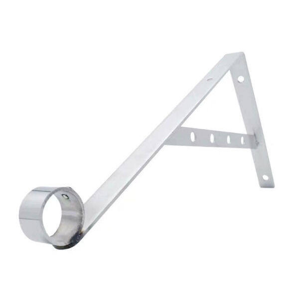 Stainless Steel Fixed Clothing Rod Tripod Fixed Air Clothes Bars Balcony Outer Drying Shelves