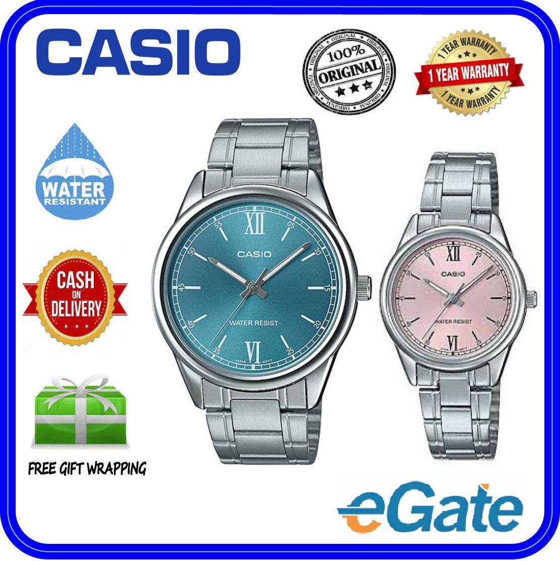 ( 2 YEARS WARRANTY ) Casio MTP-V005D-3B & LTP-V005D-