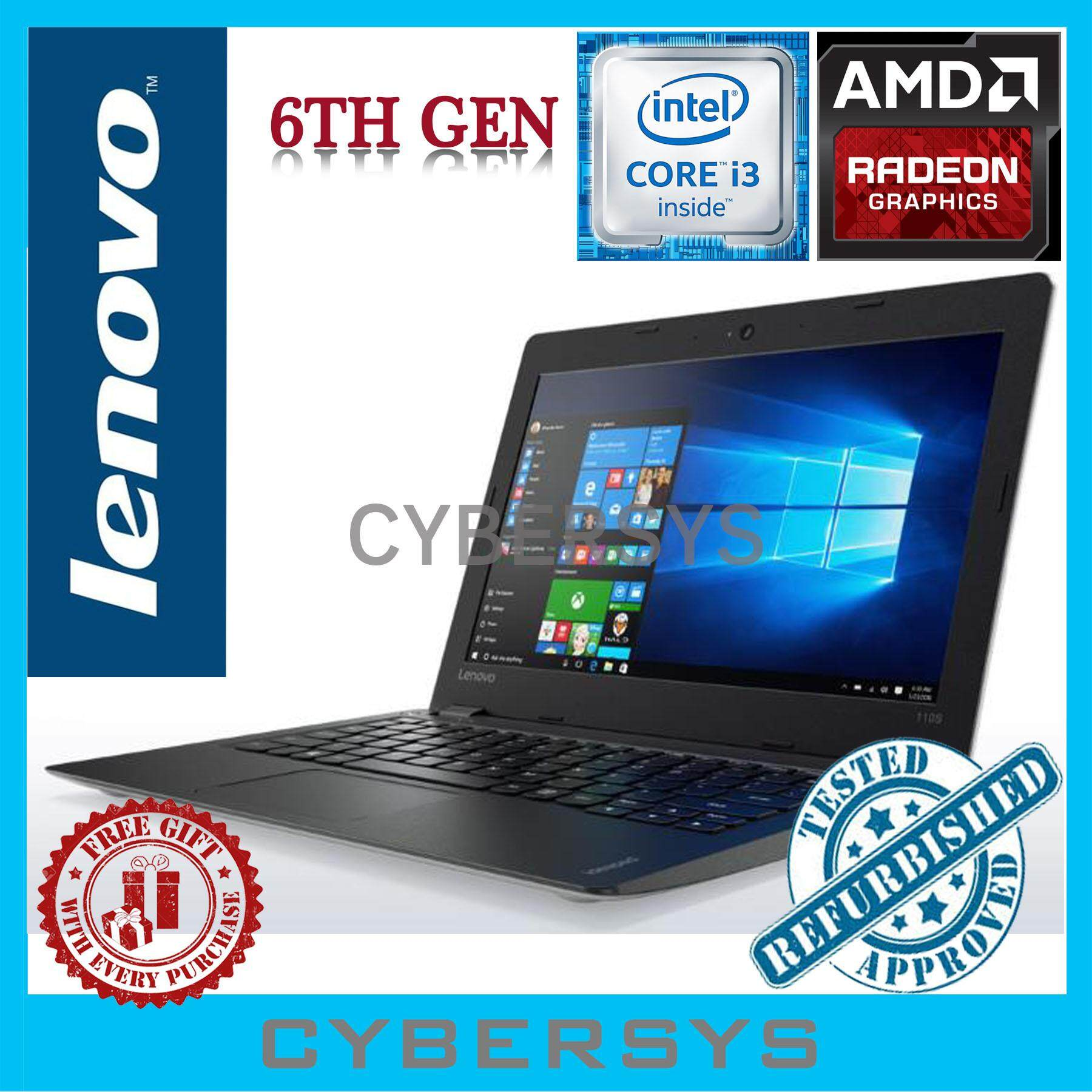Lenovo ThinkPad Intel Core i3(6th Gen) 4GB 500GB Laptop Notebook (Refurbished) Malaysia