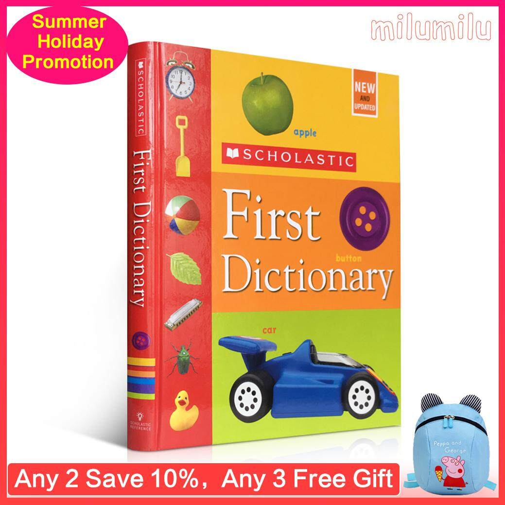 English Childrens Books Scholastic First Dictionary Hardcover Judith S. Levey English Word Learning Reference Book Picture Books for Early Education 5-10 Years Old