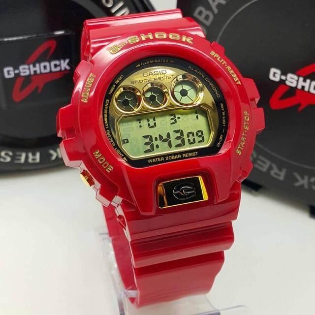 Casio_G_Shock_DW6900 Red Gold CopiOri (Cermin Kaca) Malaysia