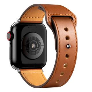Dây Đeo Bằng Da Thật, Cho Apple Watch Dây SE 7 6 42Mm 44Mm, 40Mm 38Mm Dành Cho Dòng Đồng Hồ 5 4 3 2 thumbnail