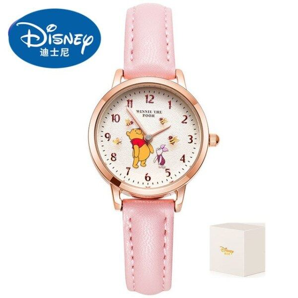 Original Winnie The Pooh Bee Rotatable Kids Quartz Watches Fashion Waterproof child Watch Female reloj mujer Gift Clock Malaysia