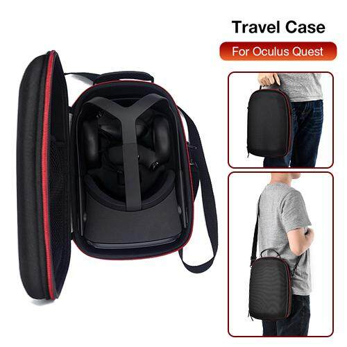 New Hard Eva Travel Protect Storage Box Bag Carrying Case Cover For Oculus Quest Vr Gaming Headset And Controllers Accessories.