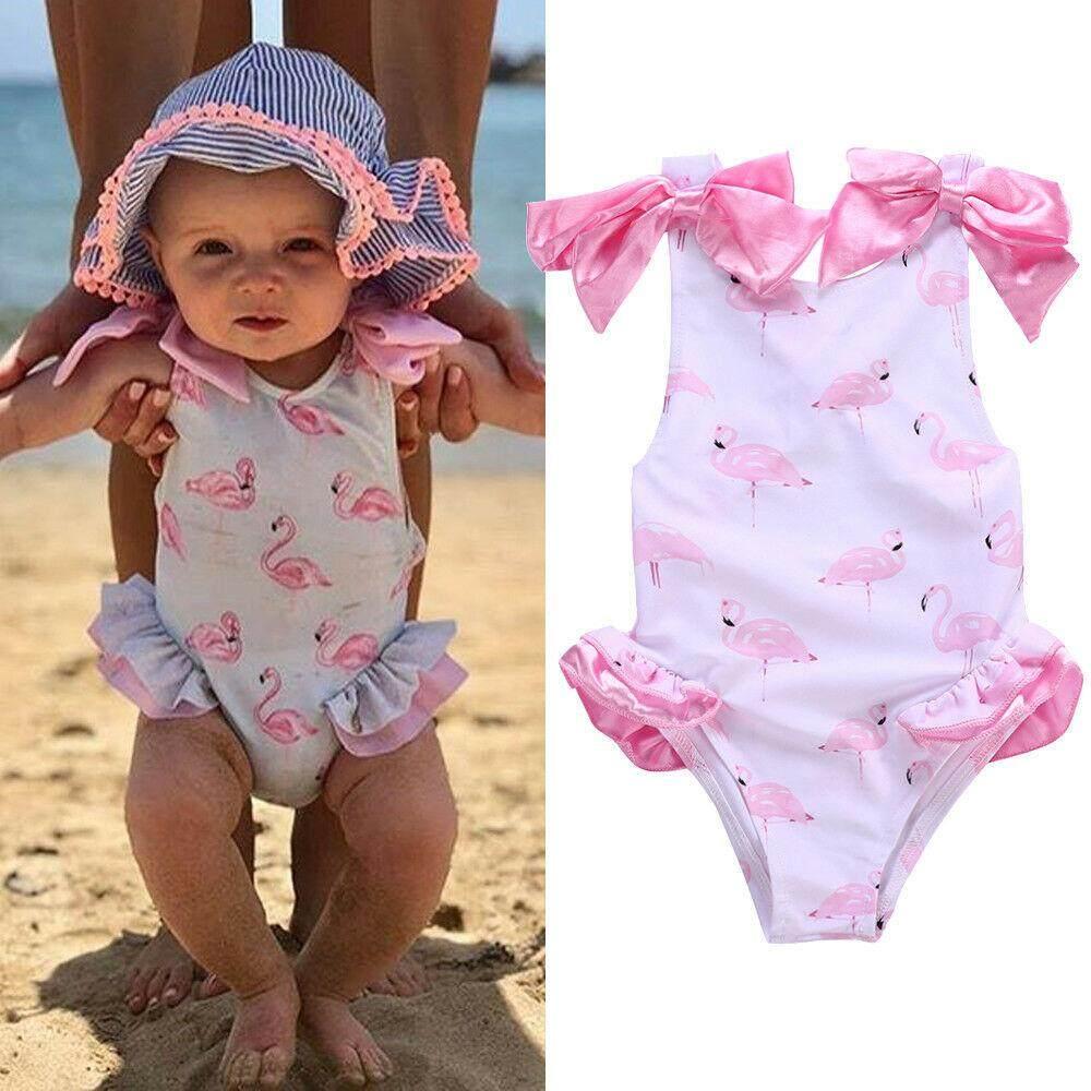 f3628ef75b952 Summer Kids Baby Girl Bikini Set Swimming Clothes Swimsuit Swimwear Bathing  Suit